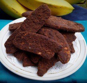 keripik pisang cokelat manis becakcode